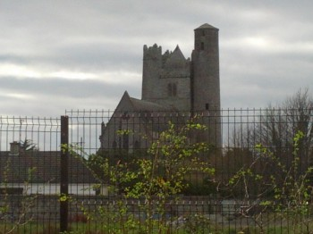 Round Tower With Church Attached