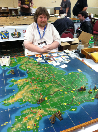 Perhaps the finest Kingmaker board ever made