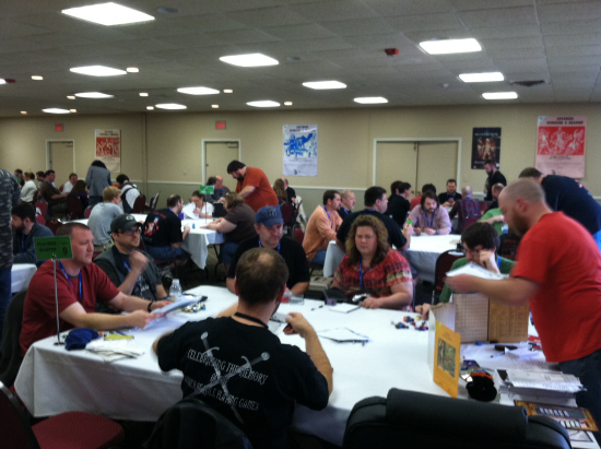 Scheduled gaming events