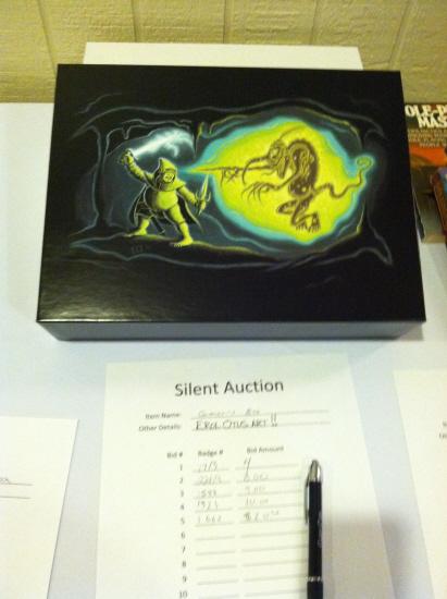 Original Erol Otus art in the silent auction