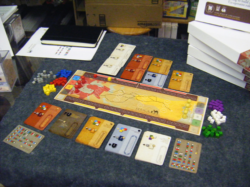 Serica, a Todd Sanders game.
