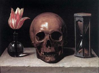 Philippe de Champaigne's Vanitas Still Life with Skull