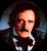 John Astin as Edgar Allen Poe