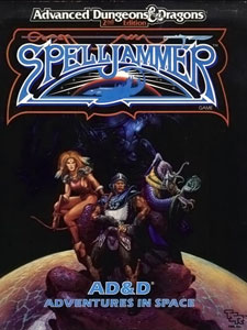 Easley covers the original Spelljammer Boxed Set, so how could I resist, right?