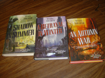 The first three novels of The Long Price Quartet