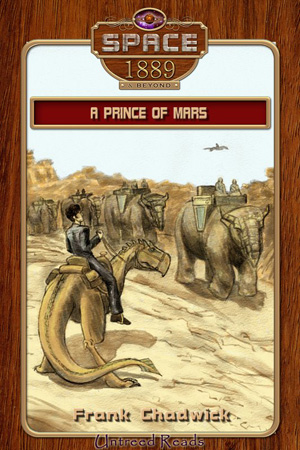 A Prince of Mars by Frank Chadwick