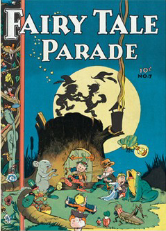 Fairy Tale Parade #7. Cover by Walt Kelly (from The Toon Treasure of Classic Children's Comics)