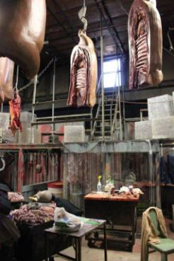 Meat Packing District Butcher Shop