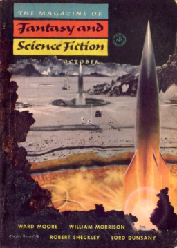 The Magazine of Fantasy and Science Fiction, October 1954, containing Alfred Coppel's