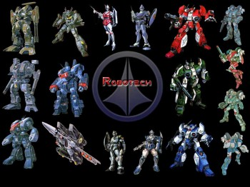 Three series and dozens of mecha and armor... yes indeed, eye candy for the warrior's heart.