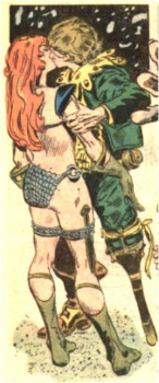 The Red Sonja Kiss of Death