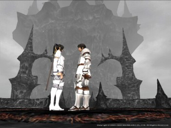 Are we the only two left in Final Fantasy XI?  Yes, but at least we look good together my love...