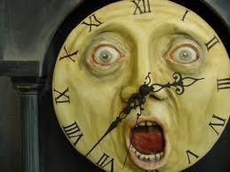 Howard's haunted clock