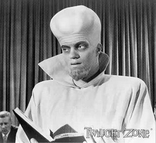 """The Twilight Zone, """"To Serve Man"""" (broadcast March 2, 1962)"""