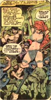 "And the first entry in Black Gate's ""Most Offensive Image Upload of 2013"" goes to Red Sonja 5."
