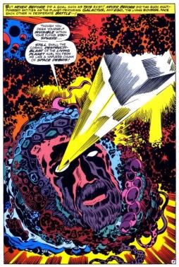 Ego vs Galactus, Thor 161
