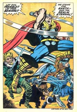 Interior art, Thor 170