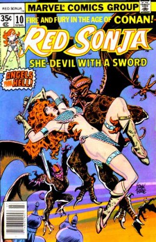 Red Sonja 10 cover