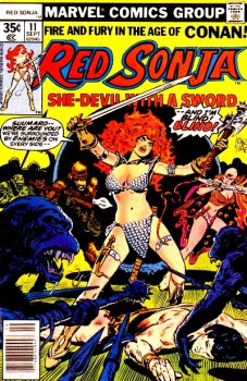 Red Sonja 11 cover