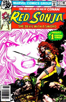 Red Sonja 12 cover