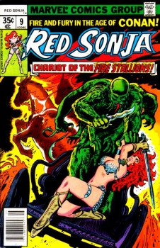 Red Sonja 9 cover