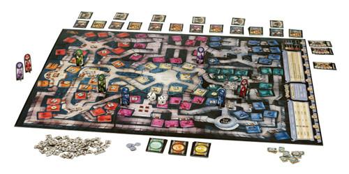 Black Gate » Articles » Dungeon Board Game from Wizards of