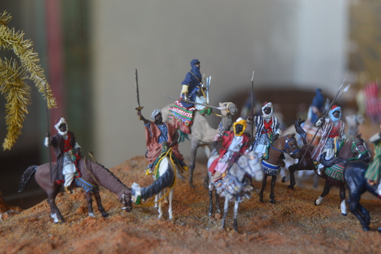 The fellows in blue at Tuareg warriors