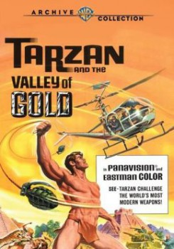 Tarzan Valley of Gold MOD DVD