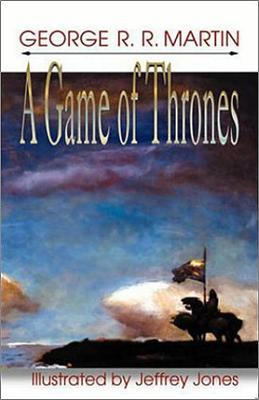 The Meisha Merlin edition of A Game of Thrones, illustrated by Jeffrey Jones.