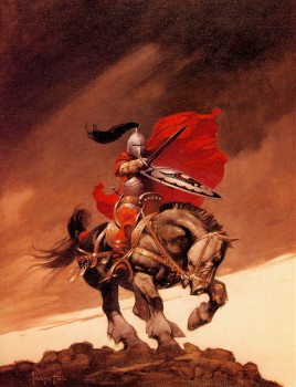 Frank Frazetta Outlaw of Torn Cover