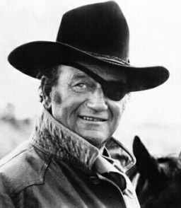 No list of heroes is complete without John Wayne