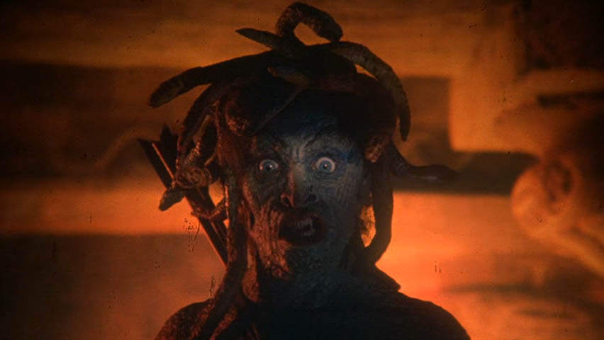 Clash of the Titans 81 Ray Harryhausen Medusa