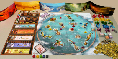 Cyclades contents