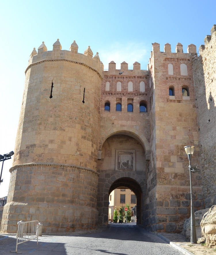 One of the original 11th century city gates, with a bit of restoration.