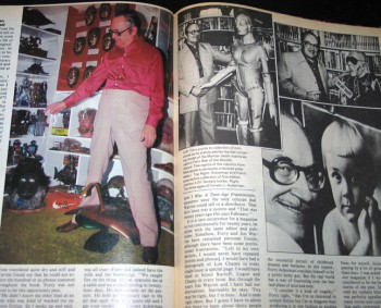 Forrest J Ackerman Starlog 1978