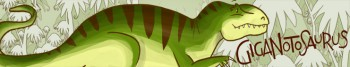 GigaNotoSaurus logo