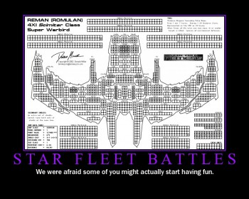 Star Fleet Battles is crazy