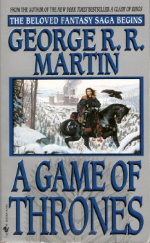 A Game of Thrones - 1997 Bantam Spectra paperback. Cover art by Stephen Youll