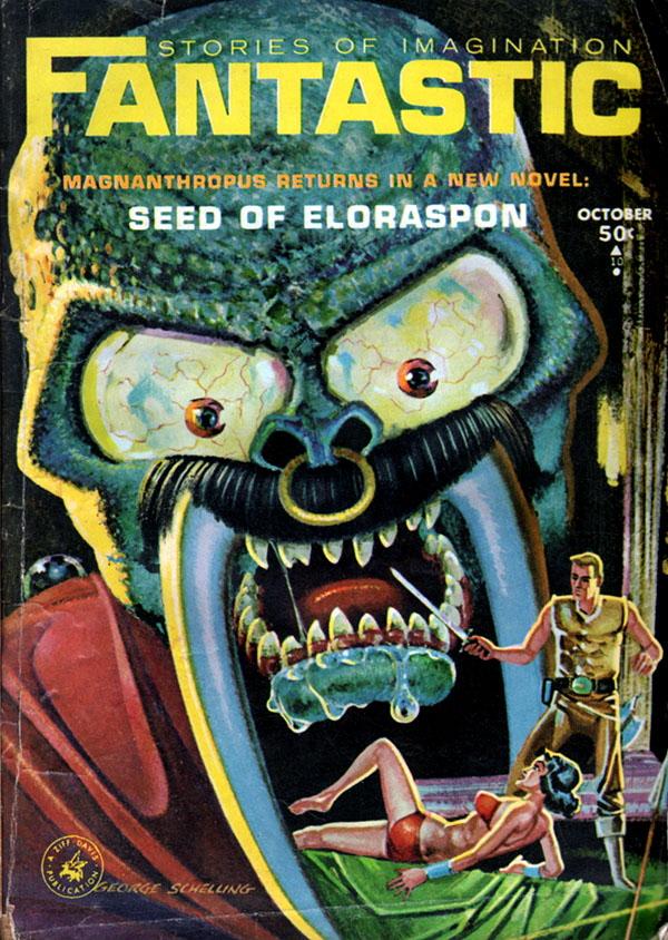 Fantastic Story Magazine 1950 Pulp Comic Books: Black Gate » Articles » Fantastic Stories, October 1964: A