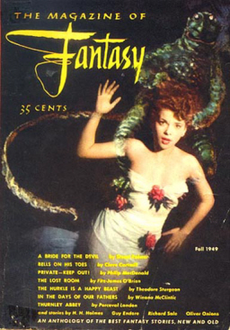 Fantasy and Science Ficiton first issue