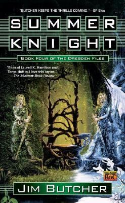 Summer Knight first edition (2002, Roc Books). Cover by Lee MacLeod