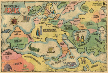arak map
