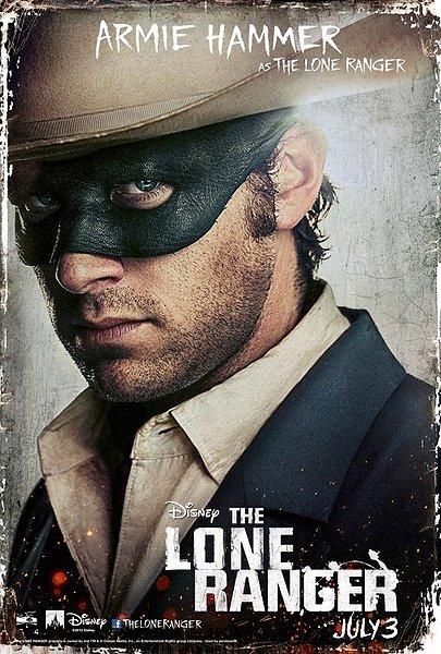 Armie Hammer Lone Ranger Poster