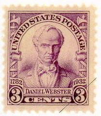 Daniel Webster stamp