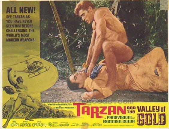 Tarzan Valley of Gold Lobby Card #1