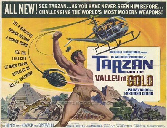 Tarzan Valley of Gold Lobby Card #2