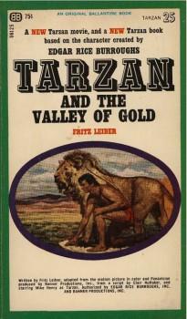 Tarzan Valley of Gold Novel Cover