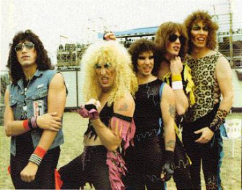 Twisted Sister band photo