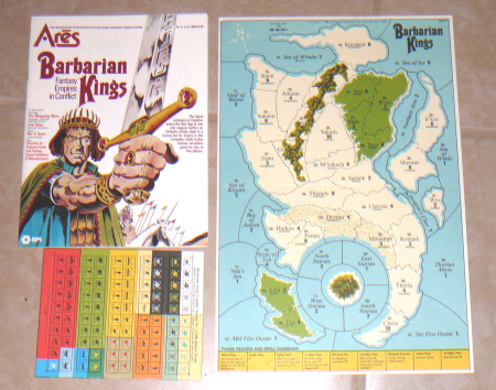 The magazine version of Barbarian Kings