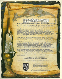 Lordlings of Yore back cover (click for readable version)
